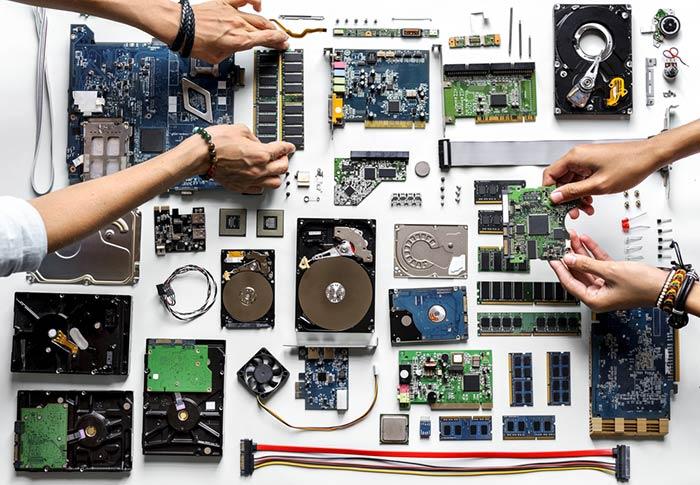 Essential computer parts