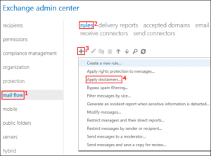 Exchange server 2019 - Exchange Admin Center