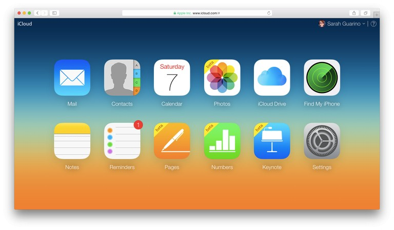 iCloud on the iPhone