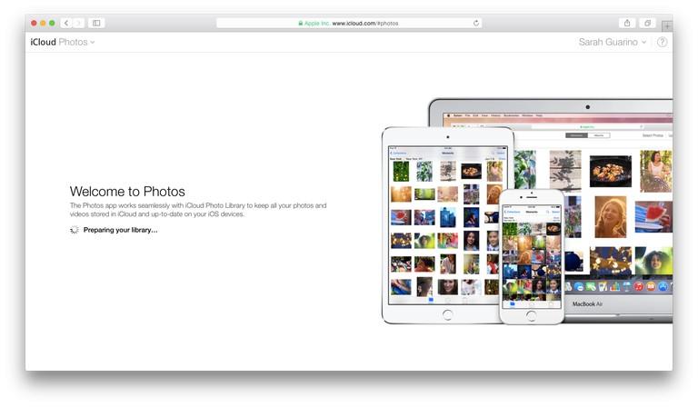 iCloud on OSX
